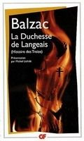 Flammarion LA DUCHESSE DE LANGEAIS - BALSAC, H. de cena od 112 Kč