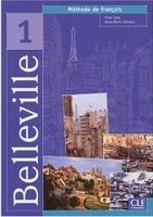 CLE international BELLEVILLE 1 LIVRE DE ELEVE - CUNY, F., JOHNSON, A., M. cena od 320 Kč