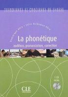 CLE international LA PHONETIQUE + CD - ABRY, D., ABRY, J., VELDEMAN cena od 603 Kč