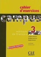 CLE international CAMPUS 3 CAHIER D´EXERCICES - GIRARDET, J., MOLINIE, M., PEC... cena od 134 Kč