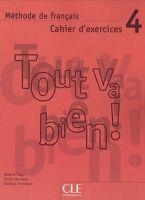 CLE international TOUT VA BIEN! 4 CAHIER D´EXERCICES + CD - AUGE, H., MARQUET,... cena od 199 Kč