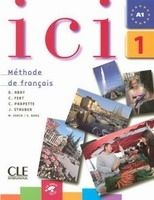 CLE international ICI 1 LIVRE DE L´ETUDIANT + AUDIO CD - ABRY, D., FERT, C. cena od 344 Kč