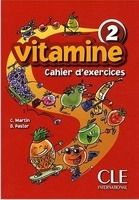 CLE international VITAMINE 2 Cahier d´Exercices pour CD + Portfolio - MARTIN, ... cena od 243 Kč