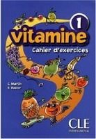 XXL obrazek CLE international VITAMINE 1 Cahier d´Exercices pour CD - MARTIN, C., PASTOR, ...