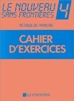 CLE international LE NOUVEAU SANS FRONTIERES 4 CAHIER D´EXERCICES - DE VRIES, ... cena od 246 Kč