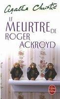 HACH-BEL LE MEURTRE DE ROGER ACROYD - CHRISTIE, A. cena od 161 Kč
