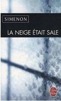 HACH-BEL LA NEIGE ETAIT SALE - SIMENON, G. cena od 161 Kč