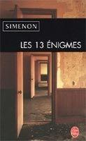 HACH-BEL LES 13 ENIGMES - SiIMENON, G. cena od 135 Kč