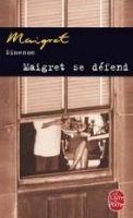HACH-BEL MAIGRET SE DEFEND - SIMENON, G. cena od 166 Kč