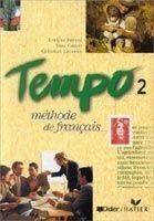 Hatier Didier TEMPO 2 CAHIER DE ELEVE - BERARD, E., CANIER, Y., LAVENNE, C... cena od 464 Kč