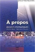 PUG A PROPOS B1-B2 ELEVE - ANDANT, Ch., CHALARON, M., L. cena od 483 Kč