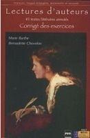 PUG LECTURES D´AUTEURS CORRIGÉS - BARTHE, M., CHOVELON, B. cena od 164 Kč