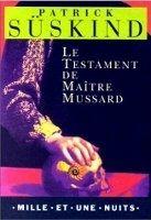 HACH-BEL LE TESTAMENT DE MAITRE MUSSARD - SÜSKIND, P. cena od 78 Kč