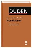 Megabooks KLEINE DUDEN 5 - Fremdwörterbuch - Dudenredaktion cena od 256 Kč
