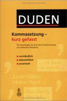 Bibliographisches Institut DUDEN-KOMMASETZUNG-KURZ GEFASST - STANG, Ch. cena od 0 Kč