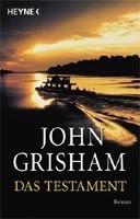 Random House DAS TESTAMENT - GRISHAM, J. cena od 275 Kč