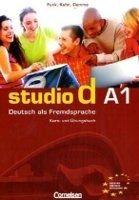 Cornelsen Verlagskontor GmbH STUDIO D A1 KURS UND ÜBUNGSBUCH + CD - DEMME, S., FUNK, H., ... cena od 393 Kč