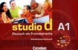 Cornelsen Verlagskontor GmbH STUDIO D A1 VOKABELTASCHENBUCH - FUNK, H. cena od 138 Kč