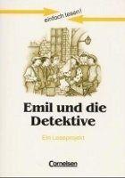 Cornelsen Verlagskontor GmbH EINFACH LESEN! EMIL UND DIE DETEKTIVE - KÄSTNER, E. cena od 163 Kč