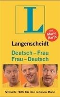 LANGENSCHEIDT DEUTSCH - FRAU / FRAU - DEUTSCH - BARTH, M. cena od 177 Kč