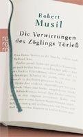 Rowohlt Verlag DIE VERWIRRUNGEN DES ZOEGLING TOERLESS - MUSIL, R. cena od 123 Kč