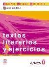 Comercial Grupo ANAYA TEXTOS LITERARIOS Y EJERCICIOS NIVEL MEDIO I - CIRIA BADOS, ... cena od 236 Kč