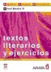 Comercial Grupo ANAYA TEXTOS LITERARIOS Y EJERCICIOS NIVEL MEDIO II - CIRIA BADOS,... cena od 0 Kč