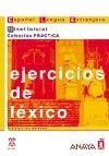 Comercial Grupo ANAYA EJERCICIOS DE LEXICO NIVEL INICIAL - ALVAREZ, M. A. cena od 236 Kč
