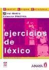 Comercial Grupo ANAYA EJERCICIOS DE LEXICO NIVEL MEDIO - ALVAREZ, M. A. cena od 0 Kč