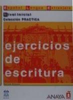 Comercial Grupo ANAYA EJERCICIOS DE ESCRITURA NIVEL INICIAL - ALVAREZ, M. A. cena od 0 Kč