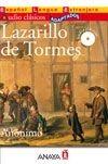 Comercial Grupo ANAYA LAZARILLO DE TORMES + CD Audio clásicos - ANÓNIMO cena od 0 Kč