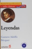 Comercial Grupo ANAYA LEYENDAS + CD Audio clásicos - BEQUER, G A. cena od 246 Kč