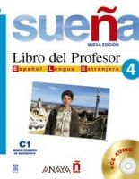 Comercial Grupo ANAYA SUENA 4 LIBRO DEL PROFESOR + CD - ALVAREZ, M. A. cena od 445 Kč