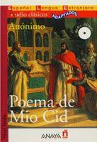 Comercial Grupo ANAYA POEMA DE MIO CID + CD Audio clásicos cena od 0 Kč