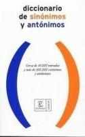 Editorial Planeta, S.A. DICCIONARIO DE SINÓNIMOS Y ANTÓNIMOS - Espasa cena od 434 Kč