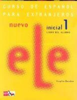 Grupo Editorial NUEVO ELE INICIAL 1 LIBRO DEL ALUMNO + CD - Borobio Virgilio... cena od 461 Kč