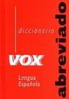 Comercial Grupo ANAYA DICCIONARIO VOX ABREVIADO - GAYA, S. G. cena od 186 Kč
