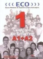 Edelsa Grupo Didascalia, S.A. ECO 1 (A1+A2) CUADERNO DE REFUERZO - HERMOSO, A. G. cena od 215 Kč