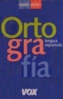 Comercial Grupo ANAYA VOX ORTOGRAFIA - GALAN, J. L. cena od 313 Kč