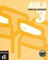 Aula 3 – Libro del profesor cena od 359 Kč