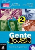 Gente Joven 2 – Libro del alumno + CD cena od 512 Kč