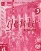 Gente 3 Nueva Ed. – Libro de trabajo + CD cena od 351 Kč