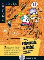 Difusión AVENTURA JOVEN: PERSECUCION EN MADRID + CD A1-A2 - SANCHO, E... cena od 196 Kč