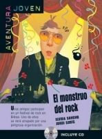 Difusión AVENTURA JOVEN: EL MONSTRUO DEL ROCK + CD A2 - SANCHO, E., S... cena od 175 Kč
