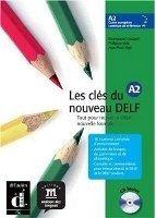 Les clés du Nouveau DELF A2 – L. de léleve + CD cena od 427 Kč