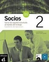 Difusión SOCIOS 2 NUEVA EDICION CUADERNO DE EJERCICIOS + CD - GONZALE... cena od 354 Kč