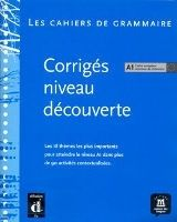 Cahier de grammaire A1 – corrigé cena od 172 Kč