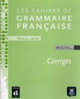 Cahier de grammaire A2 – corrigé cena od 170 Kč