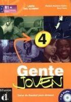 Gente Joven 4 – Libro del alumno + CD cena od 512 Kč