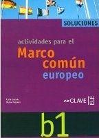 enClave ELE MARCO EUROPEO B1 SOLUCIONES - LOZANO, L., VAQUERO, N. cena od 0 Kč